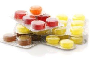 Таблетки для горла нужно употреблять после основного приема пищи