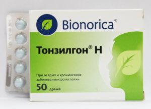 Тонзилгон облетает противовоспалительными и антисептическими свойствами