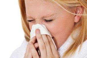 Ринит сопровождается чиханием, зудом и отеком слизистой носа