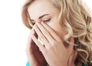 Заложенность носа без насморка может быть признаком многих патологических процессов