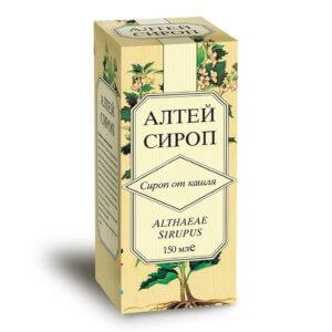 Сироп Корня алтея обладает отхаркивающими свойствами