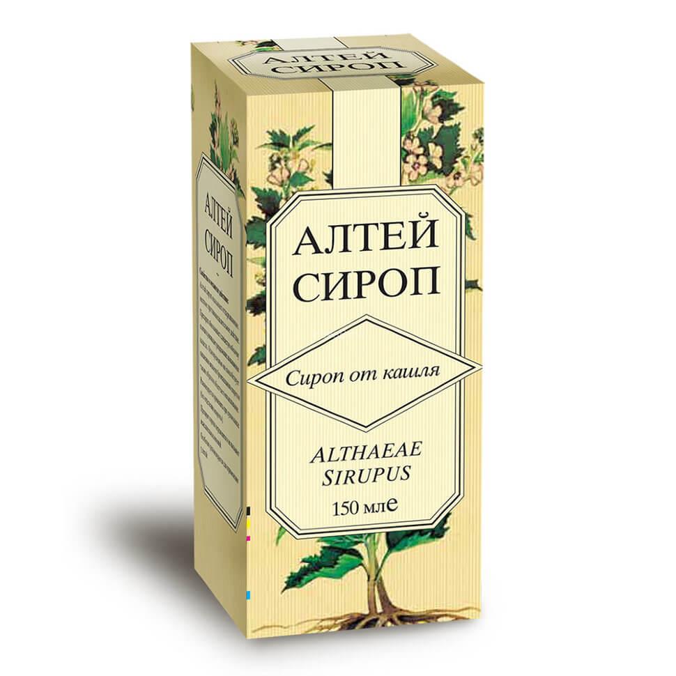 Корень алтея сироп: инструкция по применению для детей и взрослых