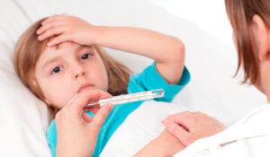 Повысилась температура у ребенка? – Нужен врач!