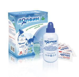 «Долфин» – эффективнее средство для промывания носа