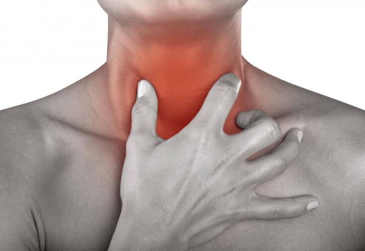 Первая помощь при боли в горле, варианты быстрого решения проблемы