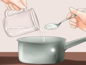 Готовим солевой раствор