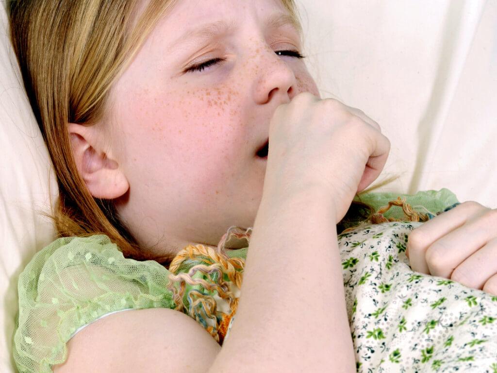 Причины и лечение ночного сухого кашля у ребенка