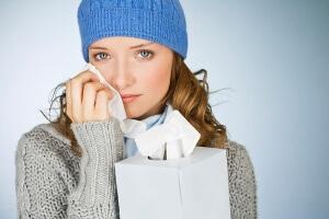 Причины возникновения заложенности носа при аллергии.