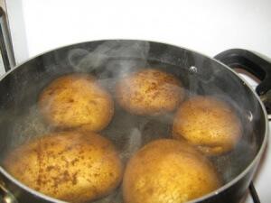 Как правильно дышать паром картофеля