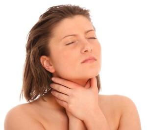Возникновение спазмов в горле и удушья