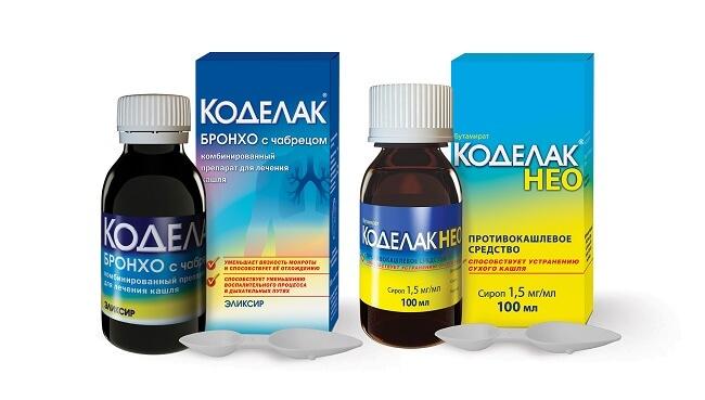 Коделак — препарат от сухого кашля: назначение, применение и дозировка