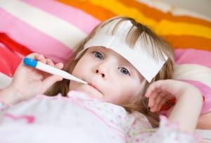 Развитие простуды в у детей