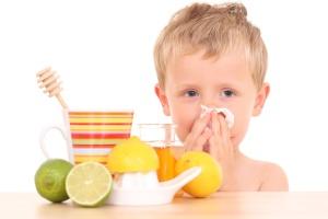 Простуда у детей - советы народной медицины