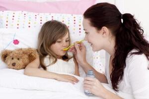 Антибиотики в суспензии для детей при кашле