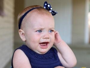 Особенности развития отита у детей