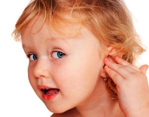 Отит у ребенка - возможные причины возникновения заболевания
