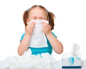Заложенность носа, прозрачная слизь - признака отека слизистой носа