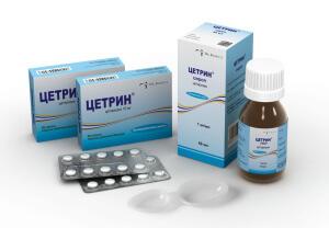 Цетрин - антигистаминный препарат от аллергии