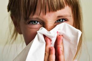 Особенности развития отека слизистой носа у ребенка