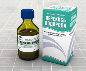 Перекись водорода - эффективный антисептик для горла
