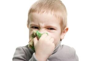 Заложенность и выделения из носа, частое чиханье – признаки насморка у ребенка