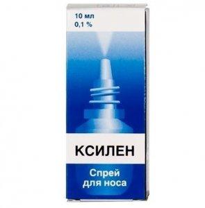 Ксилен – эффективный сосудосуживающий препарат для носа