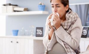 Что делать при простуде во время беременности