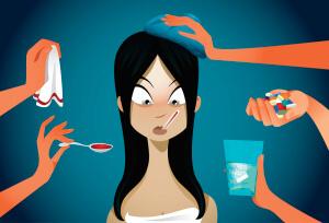 Кашель, насморк, боль в горле, температура и общая слабость в теле – признаки простуды