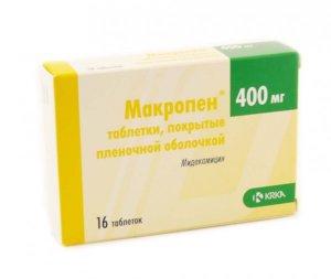 Макропен – это эффективный антибиотик, предназначен для лечения инфекционно-воспалительных заболеваний