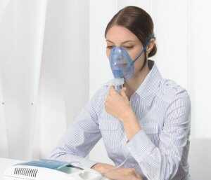 Ингаляции с Хлорофиллиптом помогают быстро вылечить заболевания верхних и нижних дыхательных путей