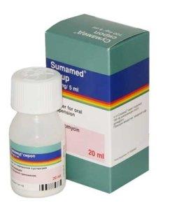 Сумамед – это антибактериальный препарат системного применения