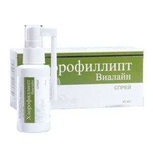 Хлорофиллипт – спрей для горла