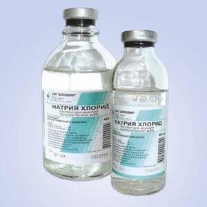 Натрия Хлорид – физраствор для увлажнения и очищения слизистой носа
