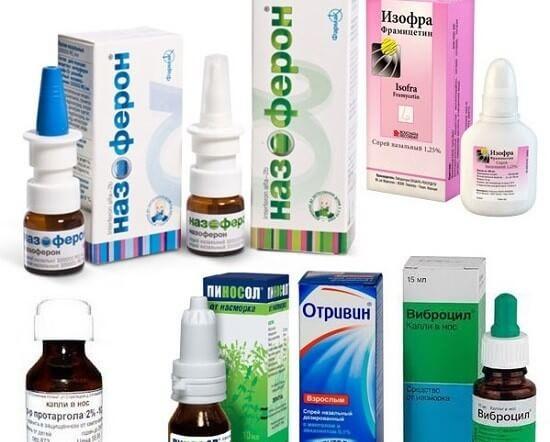 Лечебные капли и спреи в нос: обзор лучших