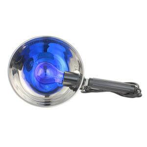 Синяя лампа – эффективный прибор для физиотерапии