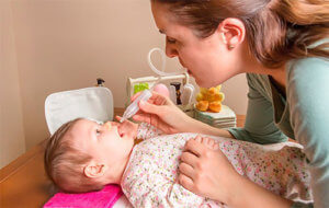 Назальный аспиратор – это прибор для удаления слизи из носовых ходов ребенка