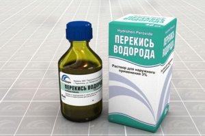 Перекись водорода широко применяется в медицине как антисептическое средство