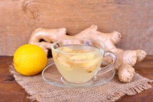 Имбирный чай – самый простой и эффективный рецепт от кашля