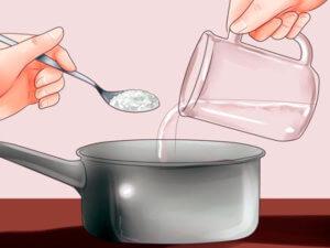 Промываем нос солевым раствором!