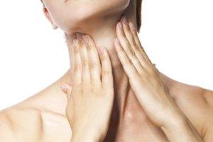 Дискомфорт и чувство постороннего предмета в горле указывают на наличие кисты