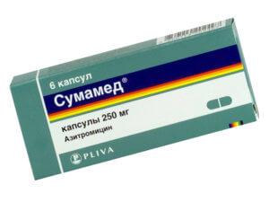 Сумамед  - эффективный и популярный препарат от гайморита