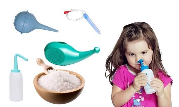 Как правильно и чем лучше всего промывать нос ребенку при насморке?