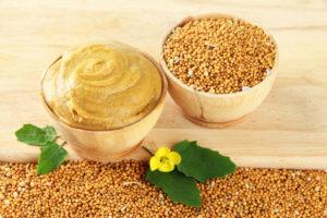 Кроме горчицы можно использовать и другие дополнительные натуральные компоненты