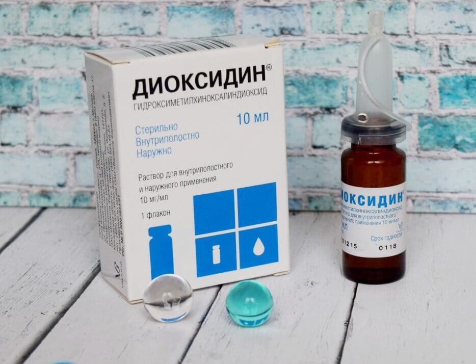 Диоксидин при гайморите: способы и правила применения