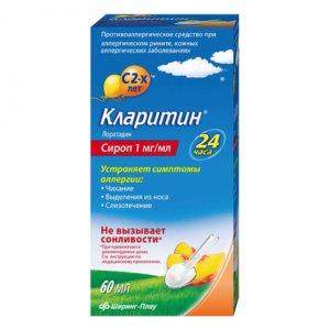 Кларитин сироп для детей: свойства препарата и инструкция по применению