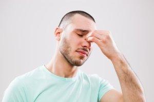 При сухом воспалении слизистой оболочки носа Санорин не применяют