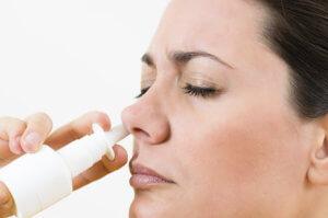 Использовать спрей в нос можно не больше 3 раз в день