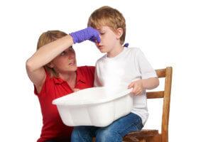Первая помощь при носовом кровотечении у детей