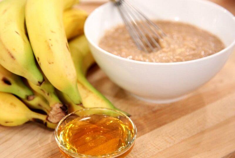 Банан с медом