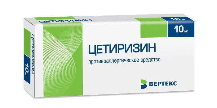 Для чего назначают препарат Цетиризин, инструкция по применению
